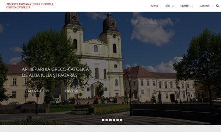 Noul website oficial al Bisericii Române Unite cu Roma, Greco-Catolice