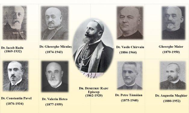 Reprezentanți ai Episcopiei greco-catolice de Oradea la Marea Adunare Națională de la Alba Iulia din 1 decembrie 1918